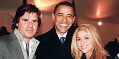 Barack Obama, recibió en el Salón Oval a Shakira