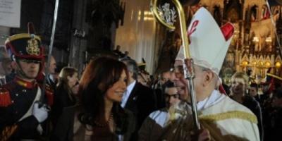 La Presidenta participó del Tedéum en la Basílica de Luján