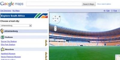 Google se sube a fiebre mundialista y permite recorrer los estadios