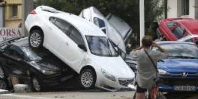 Al menos diez muertos en Francia por las fuertes lluvias