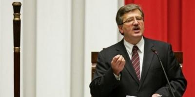 Bronislaw Komorowski, próximo presidente de Polonia