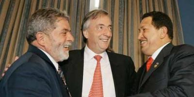 Kirchner, Lula y Correa mediarán el conflicto Venezuela - Colombia