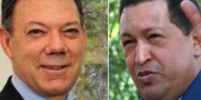 Presidentes de Colombia y Venezuela se reúnen el martes