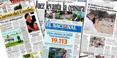 Diarios venezolanos reflejan la marcha atrás a la censura impuesta por Chávez