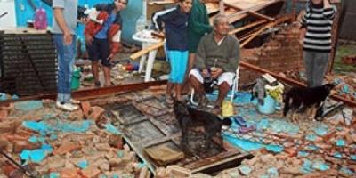 Formosa: la Nación realizará las obras de reconstrucción en la zona afectada por el tornado