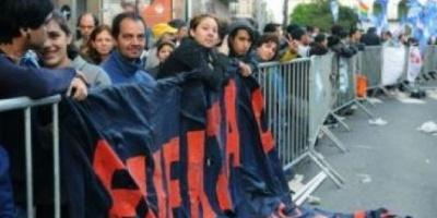 Los restos mortales de Kirchner ya están en Casa Rosada