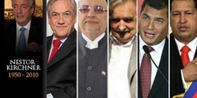 Mandatarios de Latinoamérica llegan para participar de las exequias de Kirchner