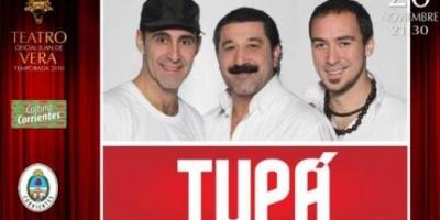 """""""Tupá"""" se presenta en el Vera"""