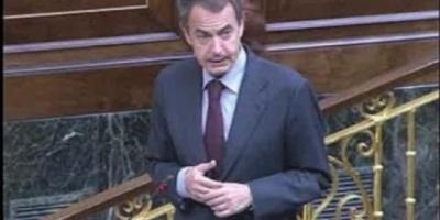 Zapatero suspendió su visita a la Argentina por la crisis económica que afecta a España