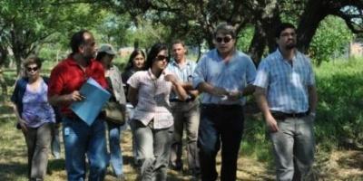 Funcionarios recorrieron el Botánico y harán convenio de cooperación mutua