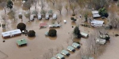 Desaparecen ciudades en Australia por fuertes lluvias