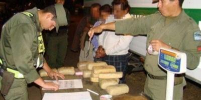 Secuestraron 22 kilos de cocaina en Paso de los Libres