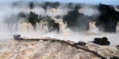 Iguazú creció más de 5 metros en 12 horas