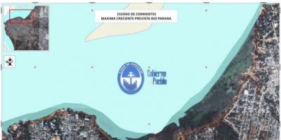 Sistema de Información Georeferencial: impacto que tendrá en la Ciudad la crecida del río