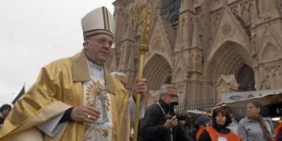 El papa Francisco clamó contra la corrupción, la esclavitud y los fabricantes de armas